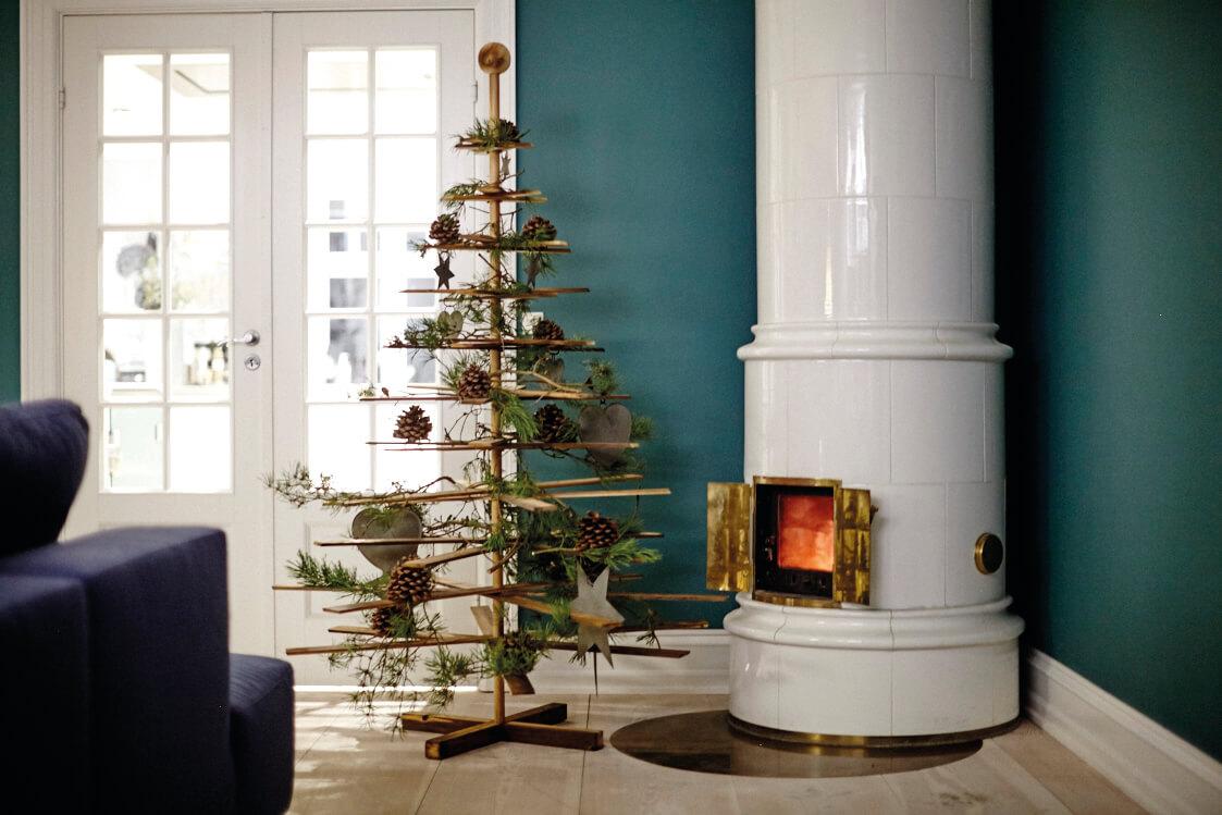 Oekologischer Weihnachtsbaum aus Holz von Habitree