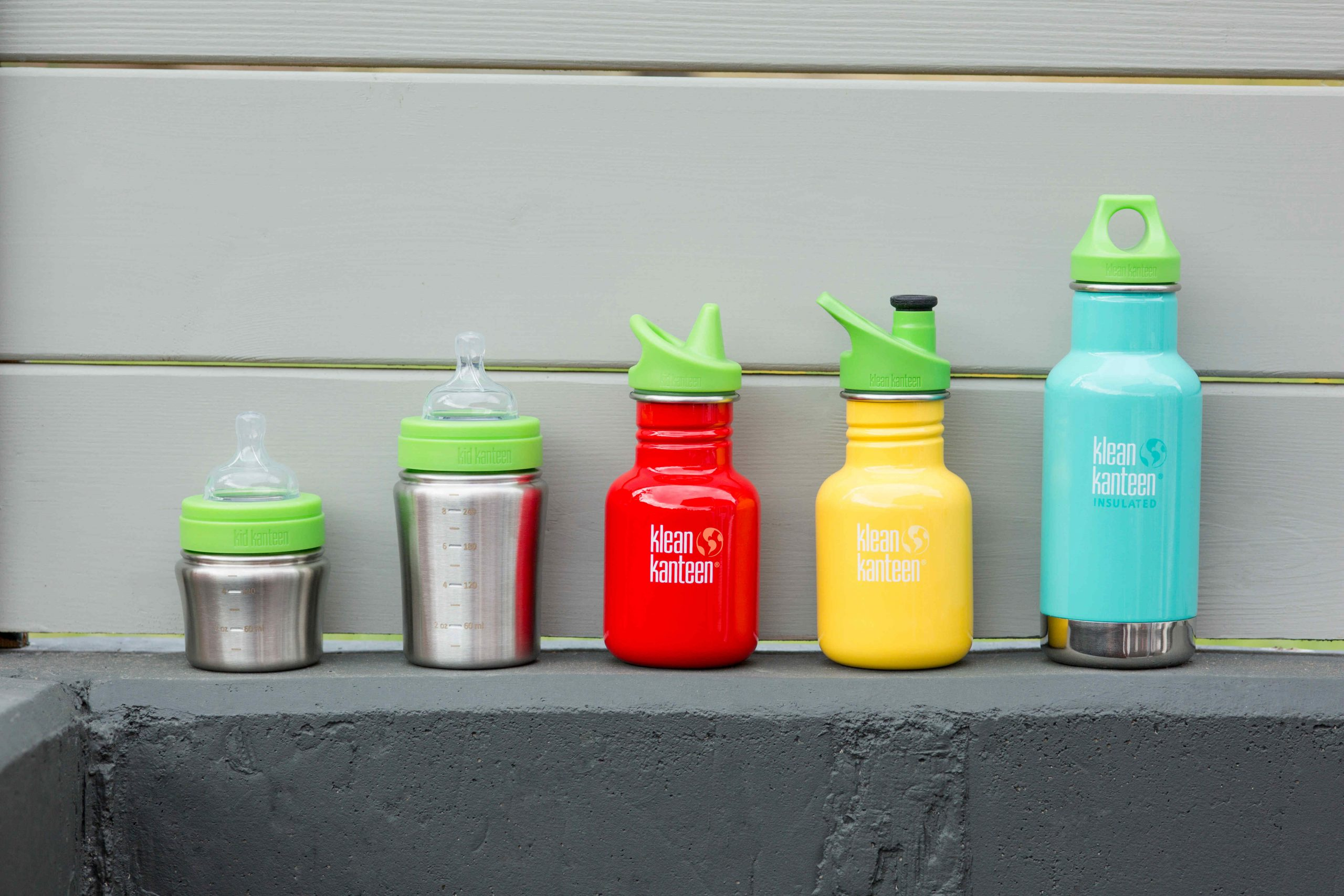Klean Kanteen Kids - oekologische Kindertrinkflaschen aus Edelstahl
