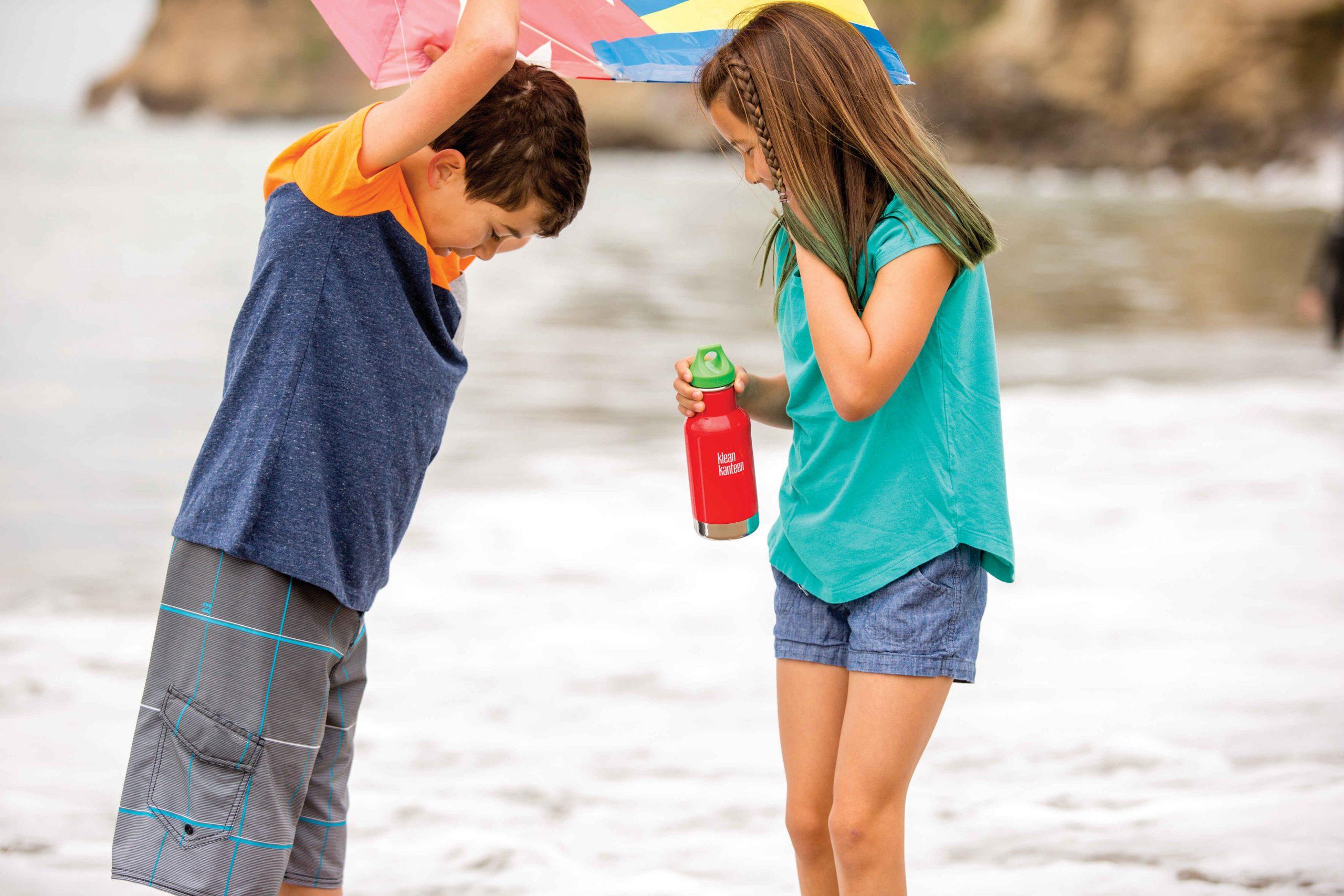 Oekologische Trinkflaschen fuer Kinder von Klean Kanteen