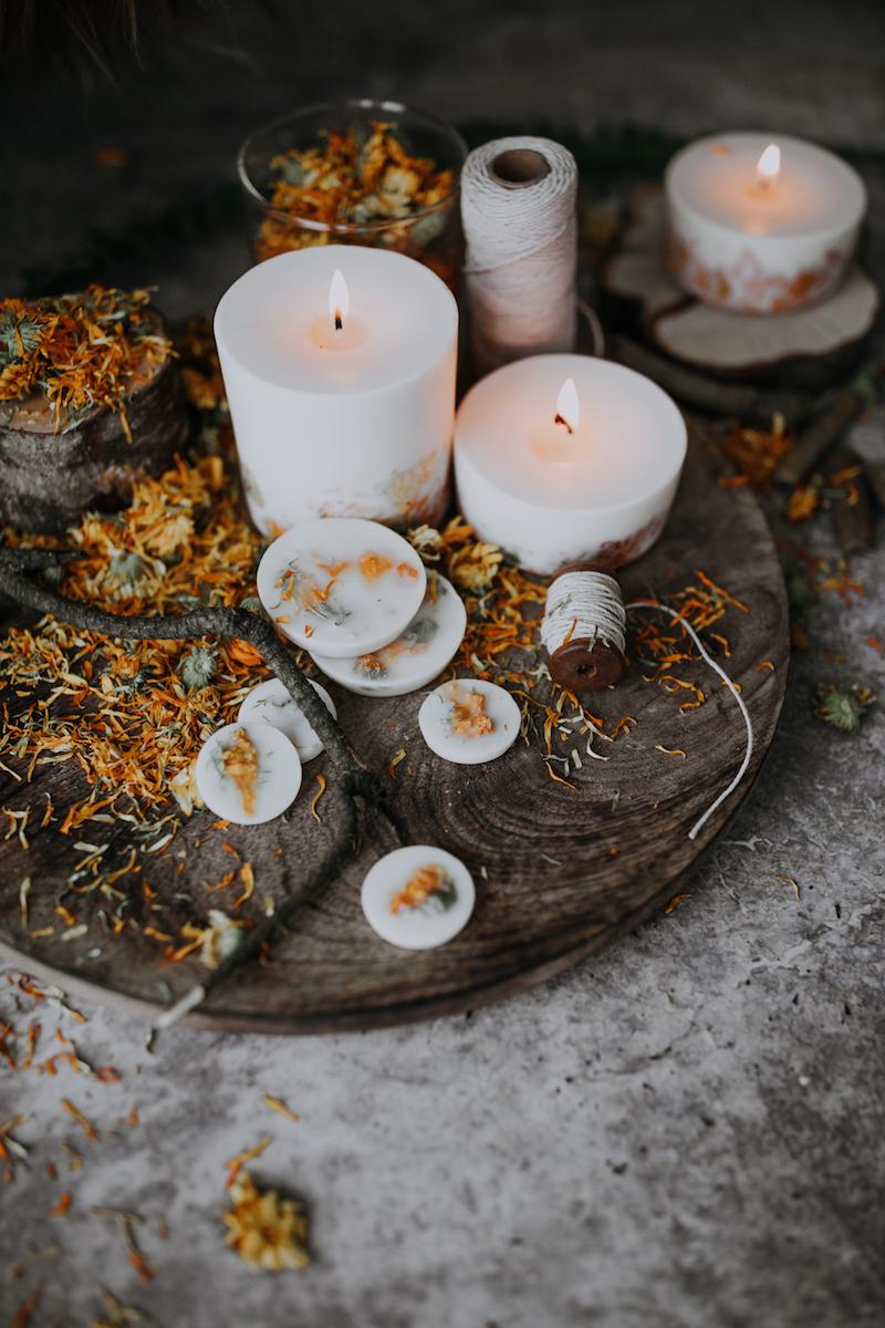 Nachhaltige Weihnachtsgeschenke: Naturkerzen von Munio Candela