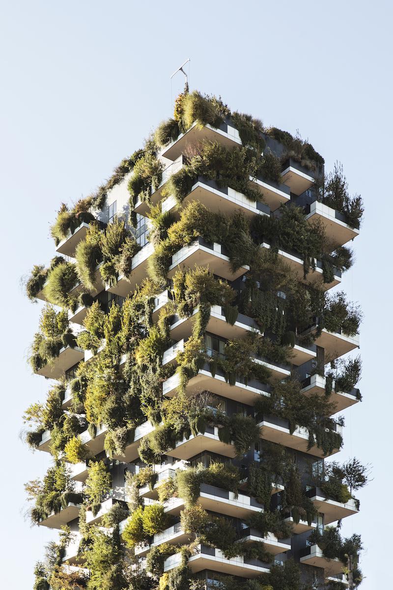 Gruene Archtiektur - Vertikale Waelder von Stefano Boeri
