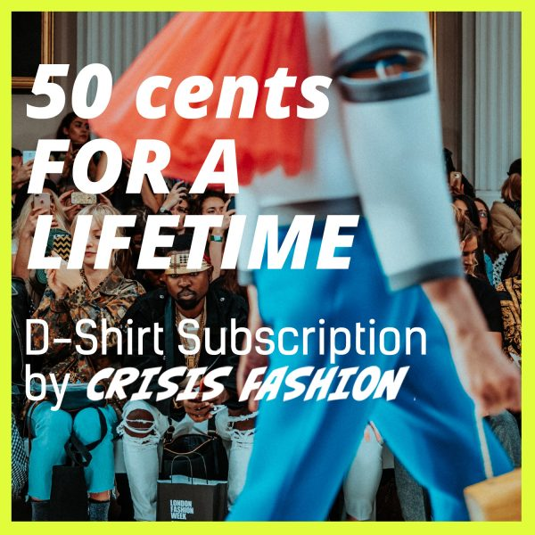 50 Cent T-Shirt Abo von Crisis Fashion