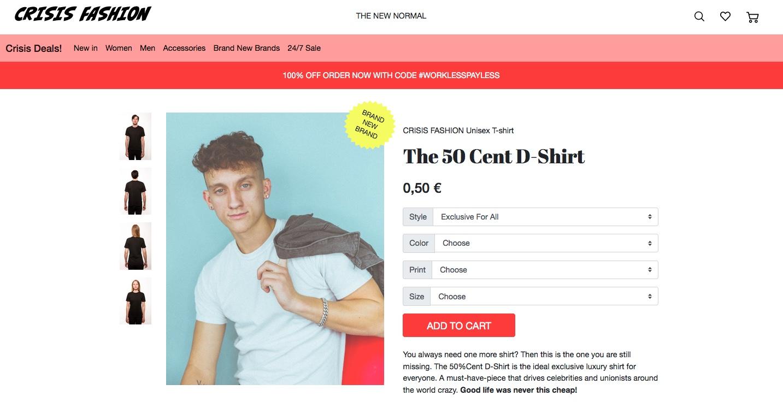 50 Cent T-Shirts - Nachhaltigkeit muss gar nicht teuer sein!