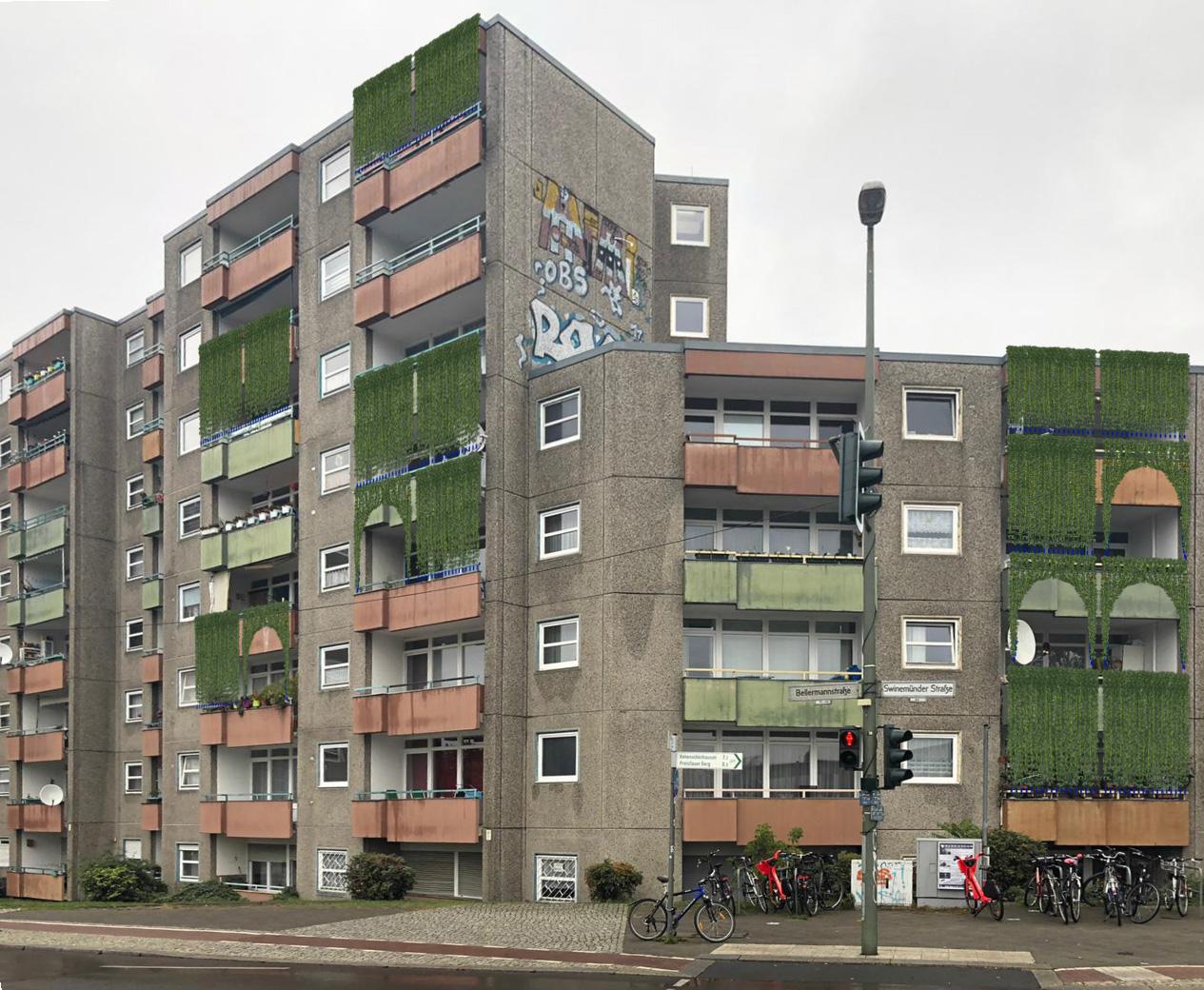 Pflanzengardinen - Urban Gardening trifft auf DIY-Design in Berlin