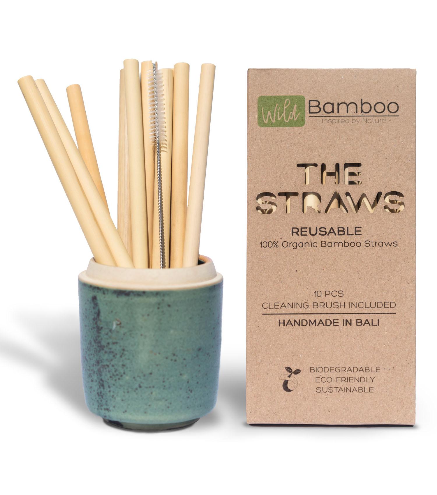 Wild Bamboo Bambusstrohhalme