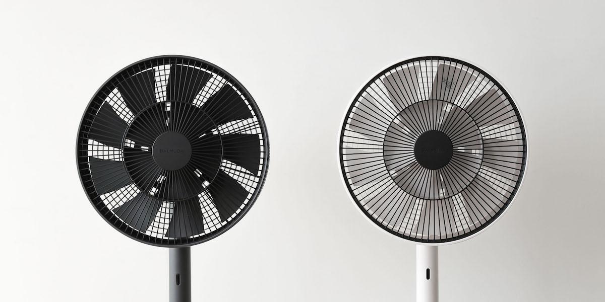 Gruner Ventilator TheGreenFan in Schwarz und Weiss