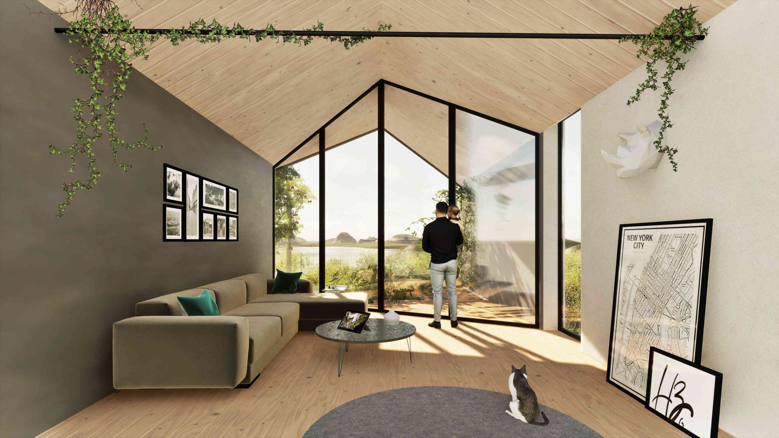 HIVE Project - Leben im Bienenstockhaus