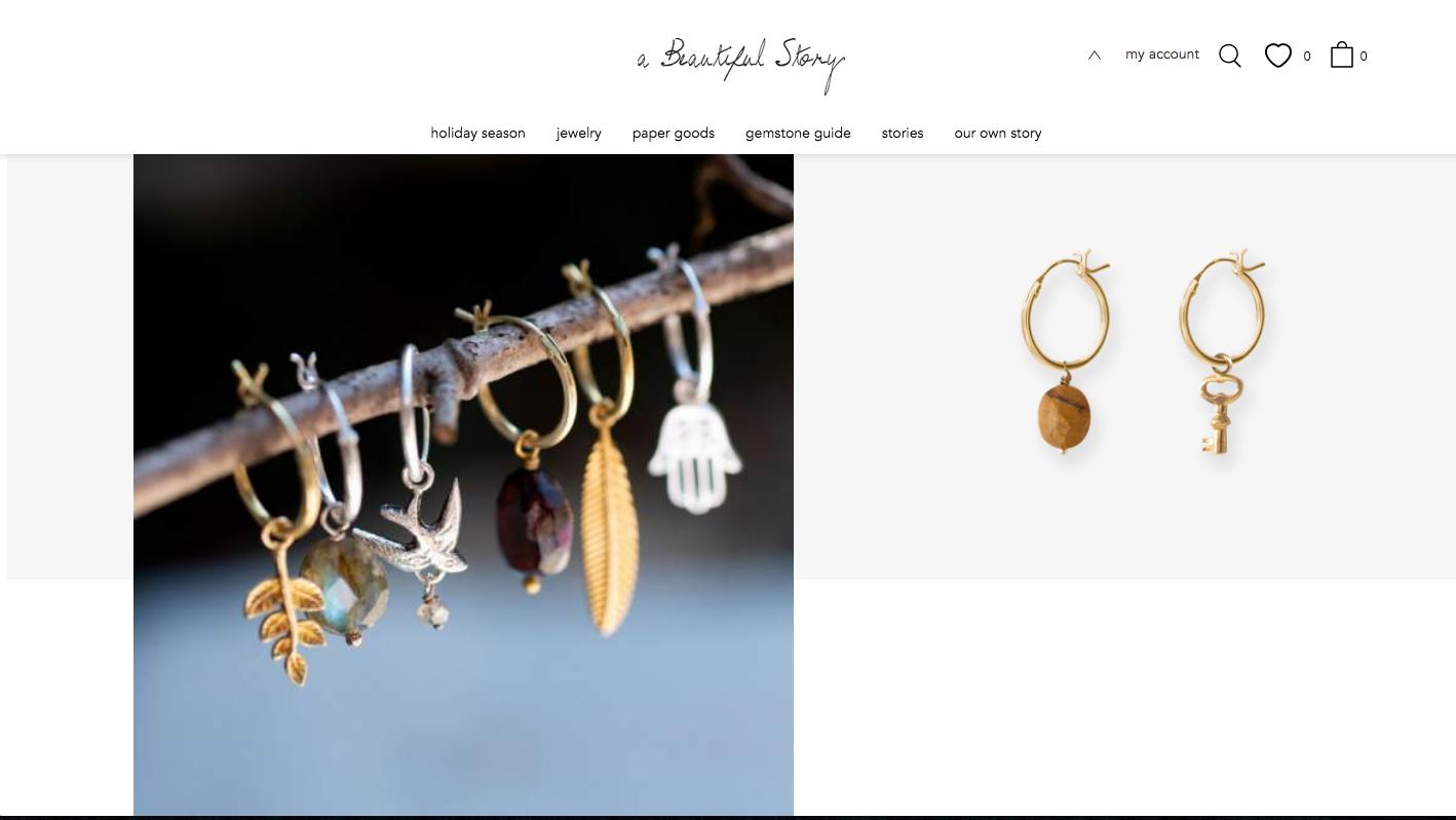 Fair Trade Schmuck im Online Shop von A Beautiful Story