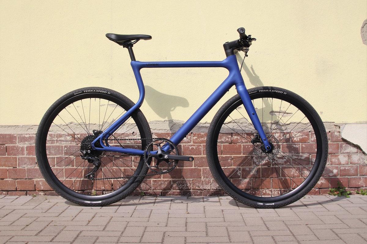 3D-gedrucktes Fahrrad von Urwahn