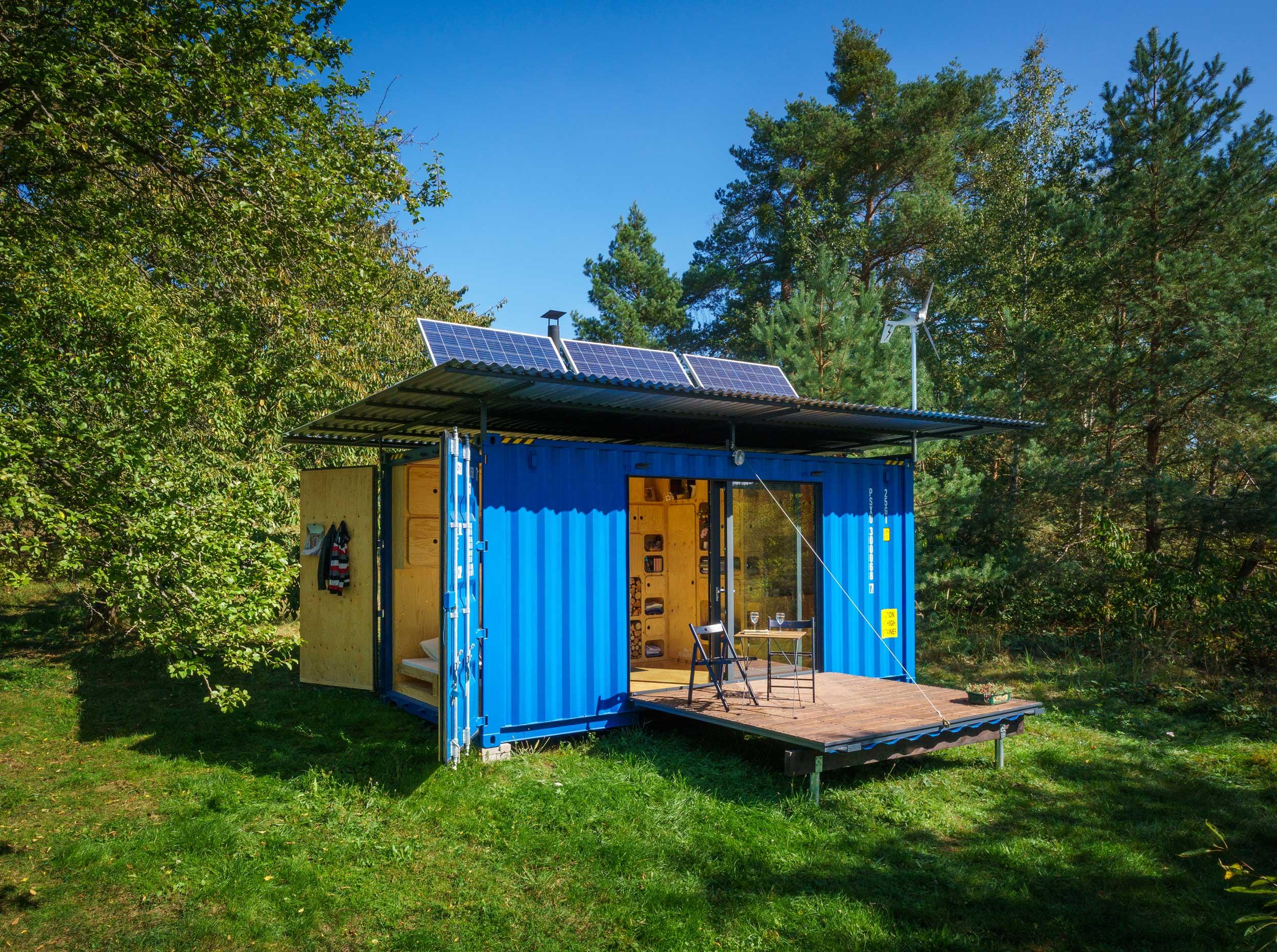 Tiny Container Haus zum selber bauen